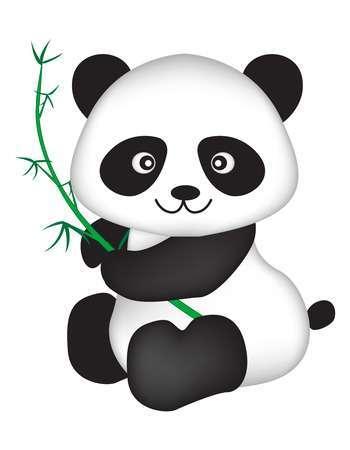 Cute panda bear clipart graphic freeuse Cute panda bear clipart 4 » Clipart Portal graphic freeuse