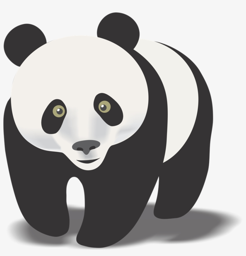 Cute panda bear clipart clip art black and white download Cute Panda Bear Clipart Free Images 5 - Real Panda Bear Clipart ... clip art black and white download
