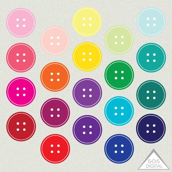 Cute pastel button clipart svg freeuse Cute button clipart - ClipartFest svg freeuse