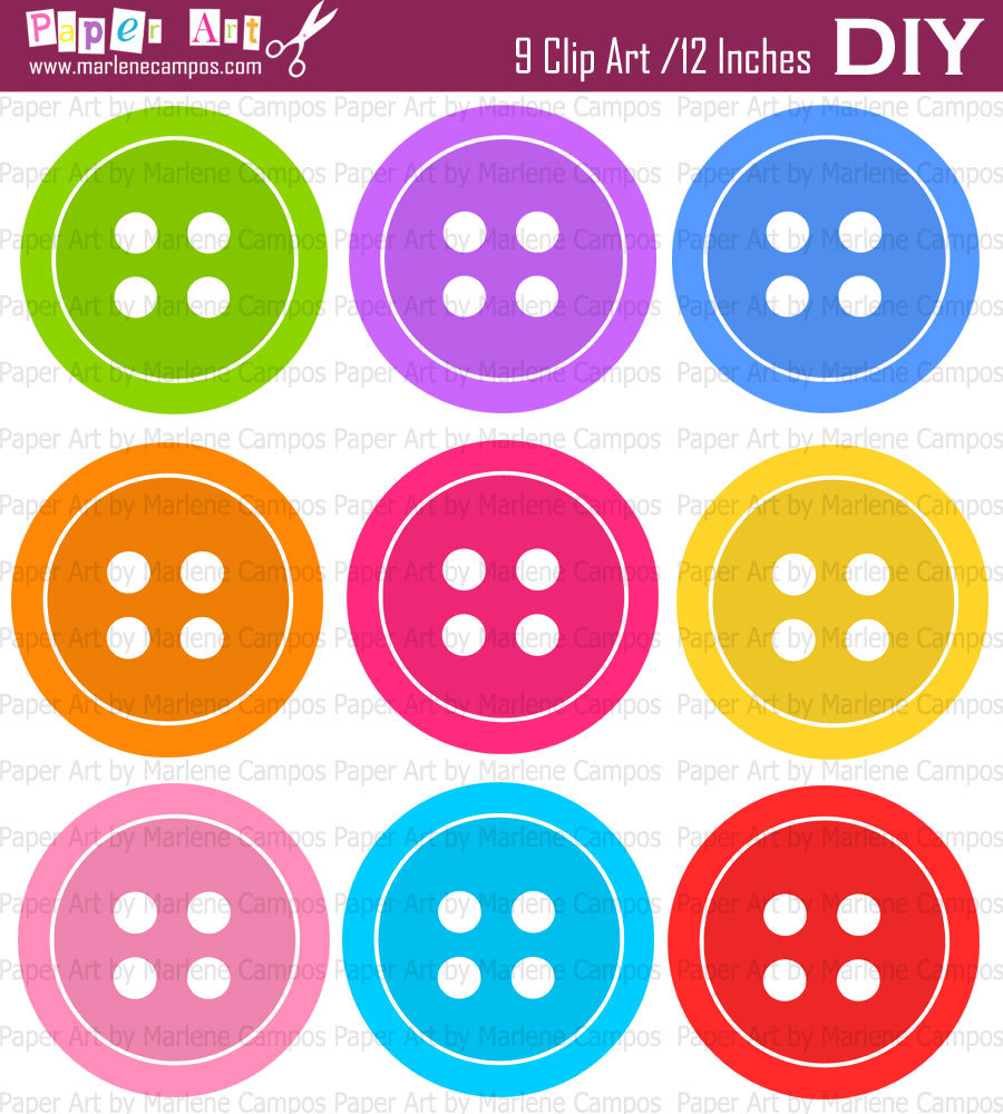 Cute pastel button clipart vector freeuse stock Cute button clipart - ClipartFest vector freeuse stock