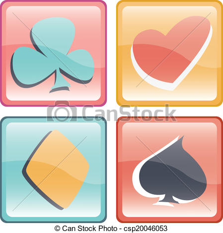 Cute pastel button clipart png transparent download Clipart Vector of Game card button - Funny and cute pastel game ... png transparent download