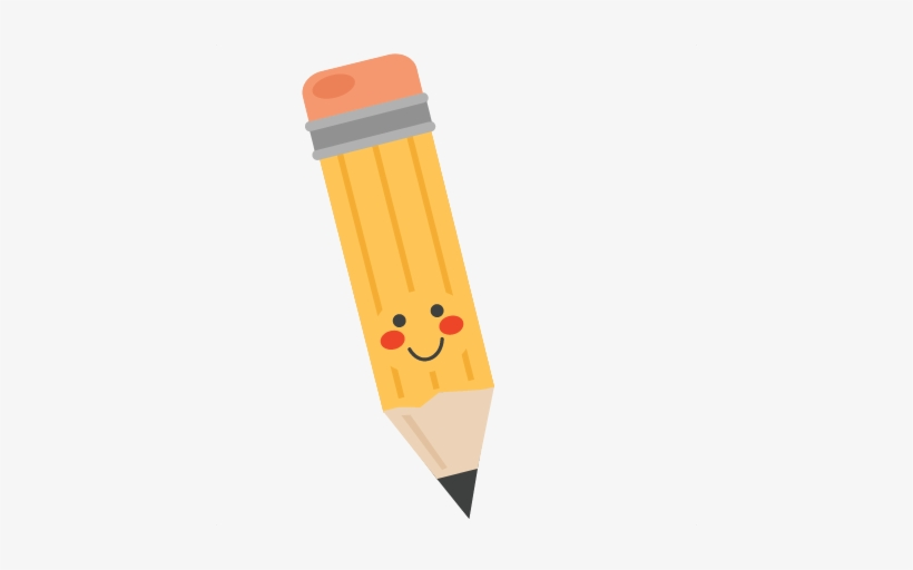 Cute pencil clipart