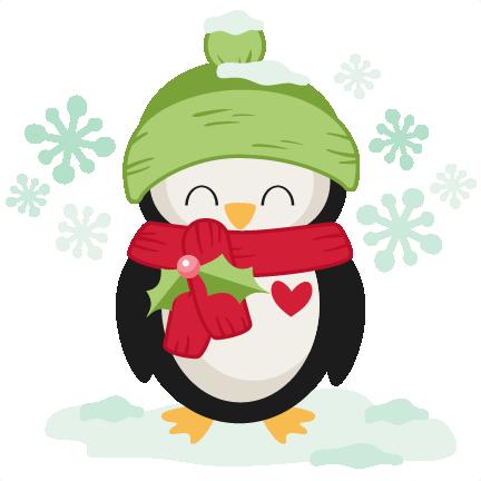 Cute penguin doctor clipart banner transparent library Winter Christmas Penguin SVG scrapbook cut file cute clipart files ... banner transparent library