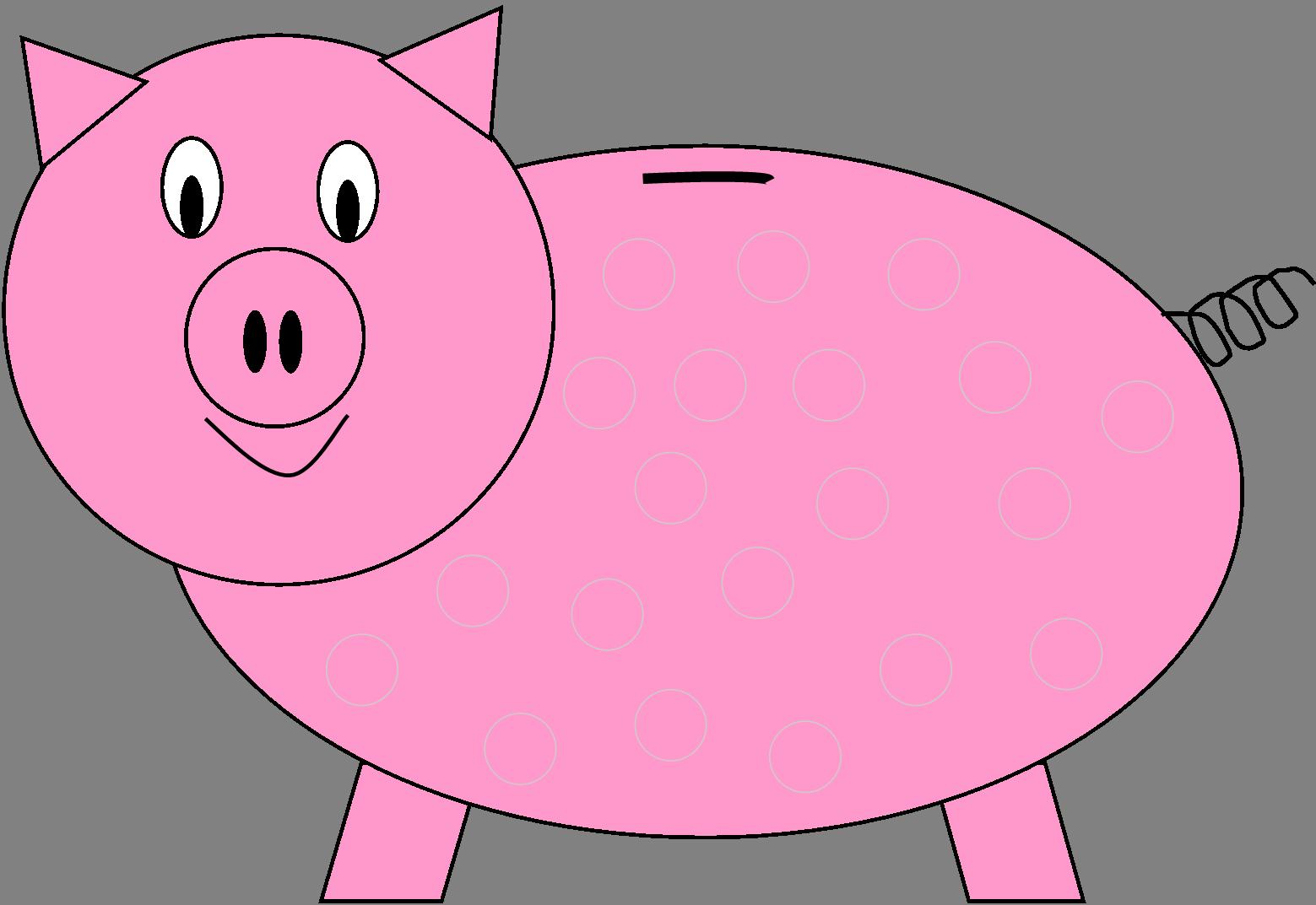 Cute piggy bank clipart clip freeuse stock Piggy Bank Clipart & Piggy Bank Clip Art Images - ClipartALL.com clip freeuse stock