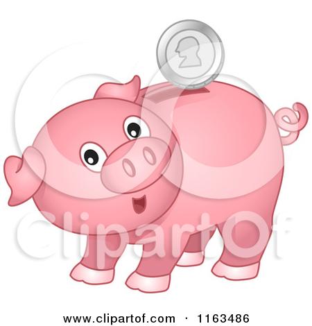 Cute piggy bank clipart svg free download Cartoon piggy bank clipart - ClipartFest svg free download