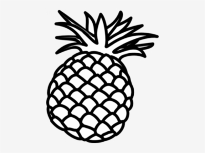 Cute pineapple camera clipart black and white picture freeuse Result For: pineapple clipart , Free png Download - trzcacak.rs picture freeuse