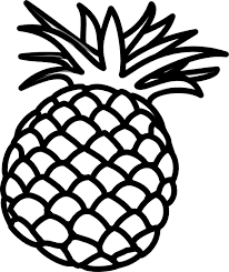Cute pineapple camera clipart black and white image freeuse download fruit clipart black and white - Google Search | fabric inspo ... image freeuse download