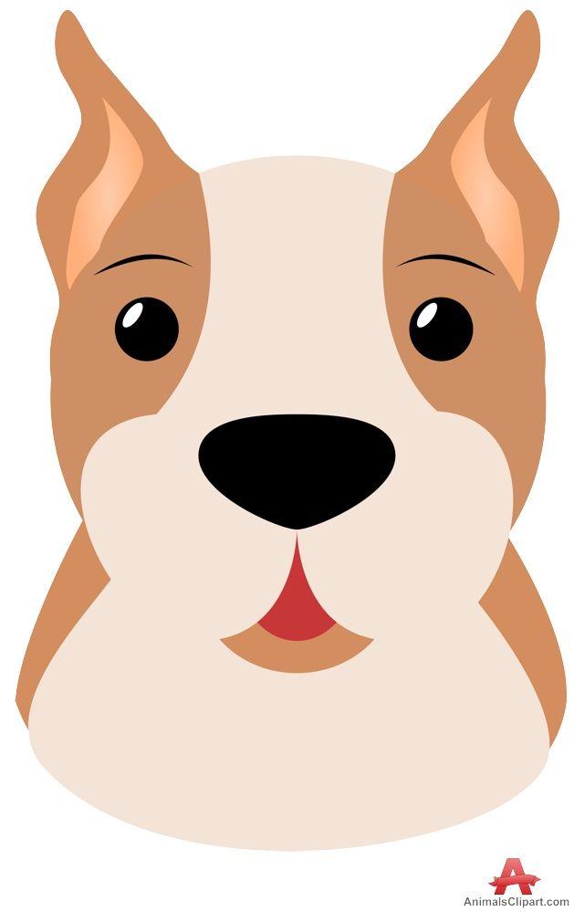 Cute pitbull clipart svg freeuse stock Pitbull Dog Clipart | patterns | Dog clip art, Pitbulls ... svg freeuse stock