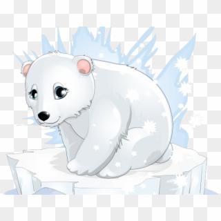 Cute polar bear on ice clipart clip art freeuse library Polar Bear Clipart Ice Bear - Polar Bear Png Clipart ... clip art freeuse library