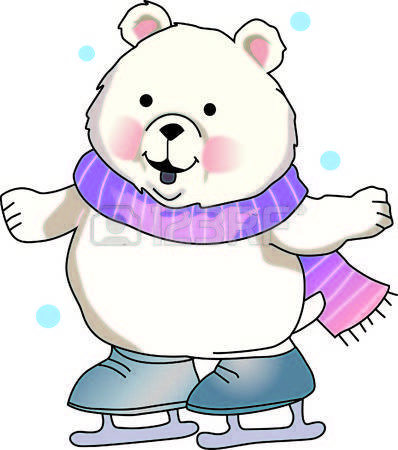 Cute polar bear on ice clipart jpg library stock Cute polar bear on ice clipart » Clipart Portal jpg library stock