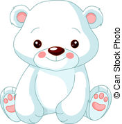 Cute polar bear on ice clipart vector royalty free download Polar bear Stock Illustrations. 15,884 Polar bear clip art ... vector royalty free download