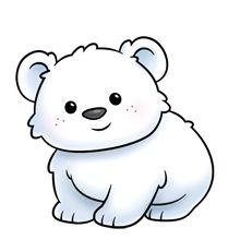 Cute polar bear on ice clipart png library library Free Polar Bear Clip Art, Download Free Clip Art, Free Clip ... png library library