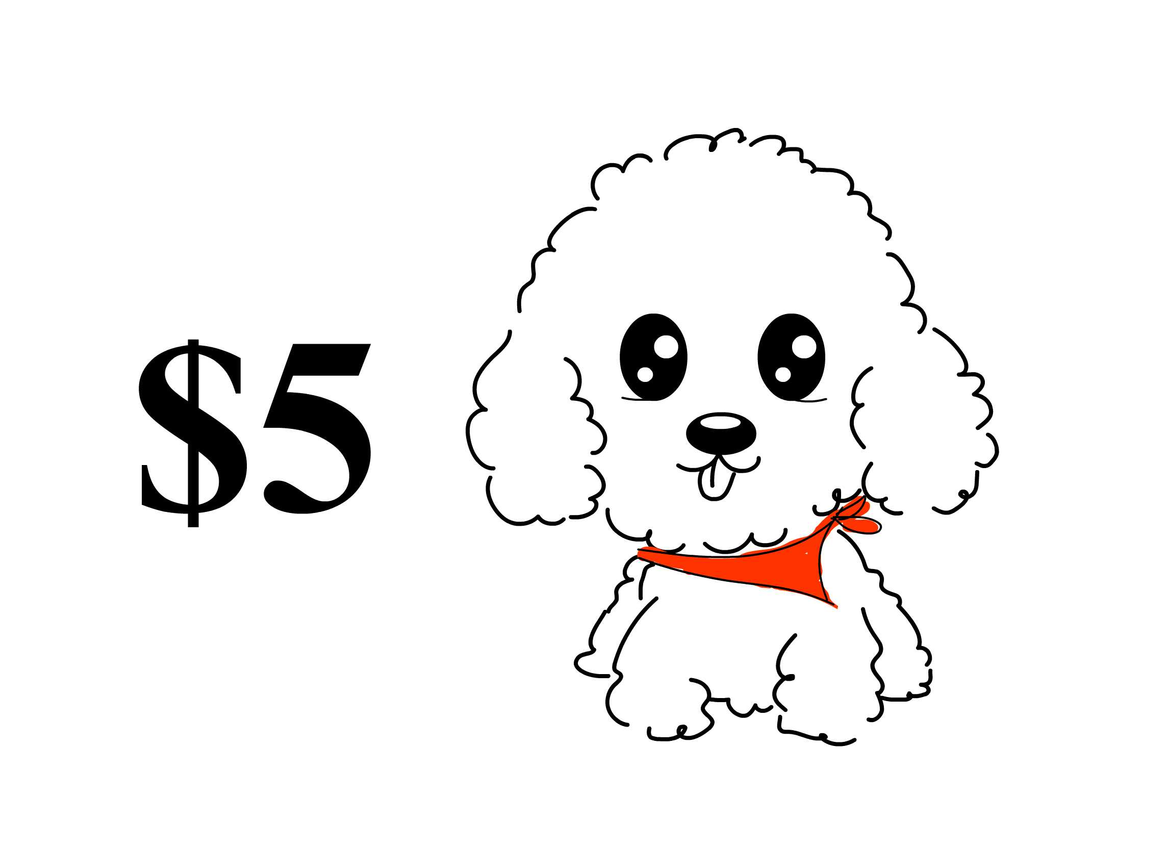 Cute poodle face clipart black and white graphic black and white Toy Poodle Drawing at PaintingValley.com | Explore ... graphic black and white