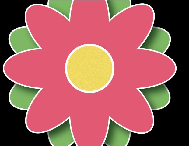 Cute primtive flower cliparts png transparent HD Spring Clipart Border - Flower Printable Clip Art Transparent PNG ... png transparent