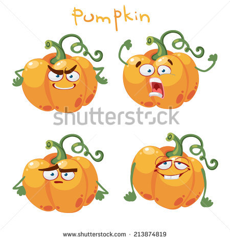 Cute pumpkin character clipart clip art freeuse stock Cartoon Pumpkin Stock Photos, Royalty-Free Images & Vectors ... clip art freeuse stock
