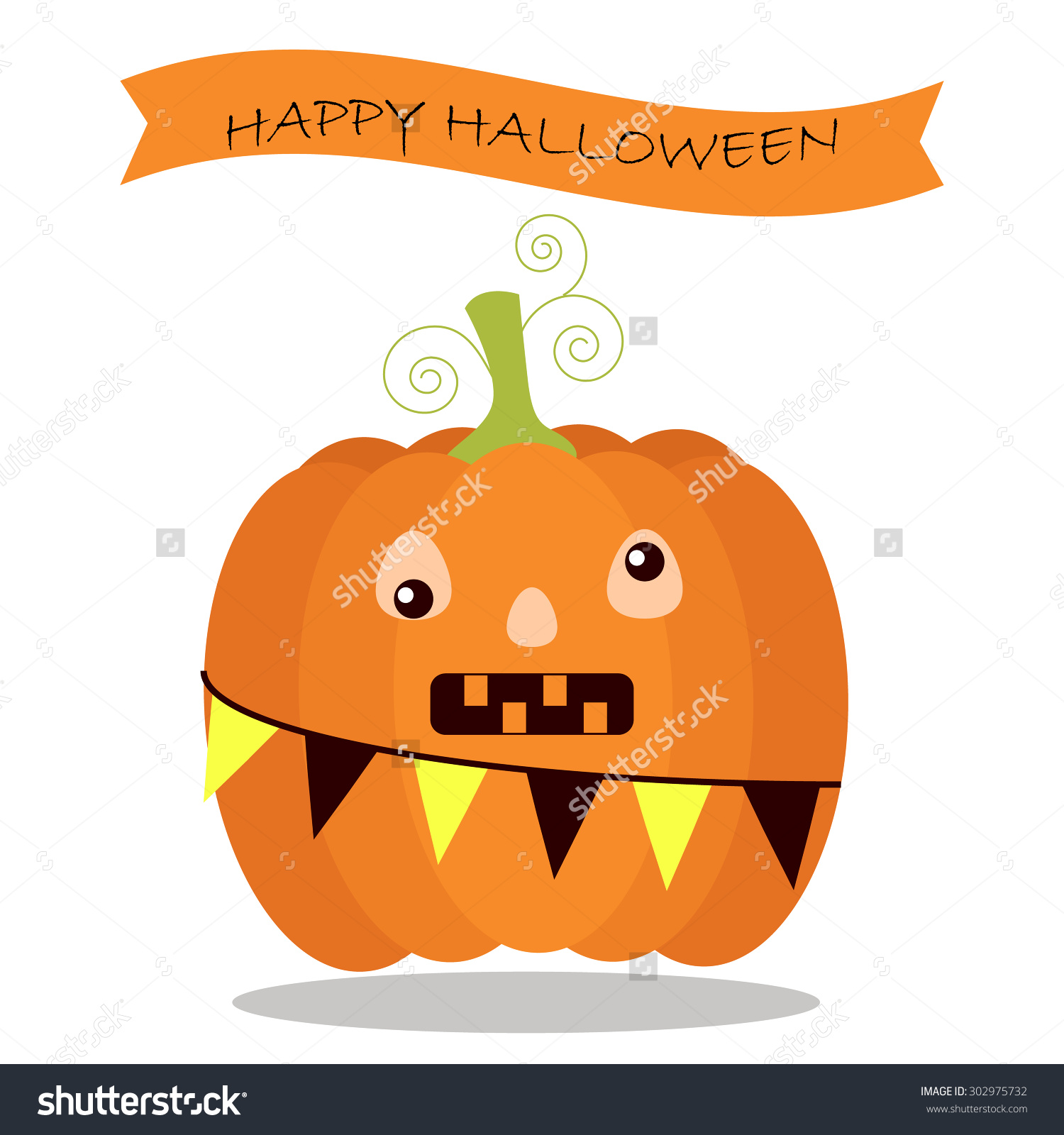 Cute pumpkin character clipart picture transparent download Cute Jack-O-Lantern Pumpkin Character Cartoon Silly Face Stock ... picture transparent download