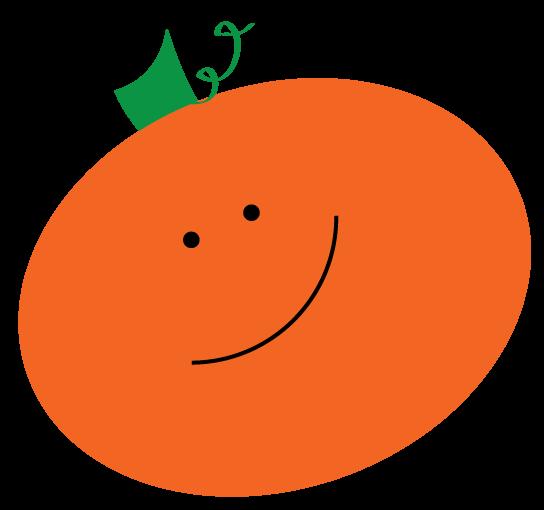 Clipartfox baby clip art. Cute pumpkin character clipart