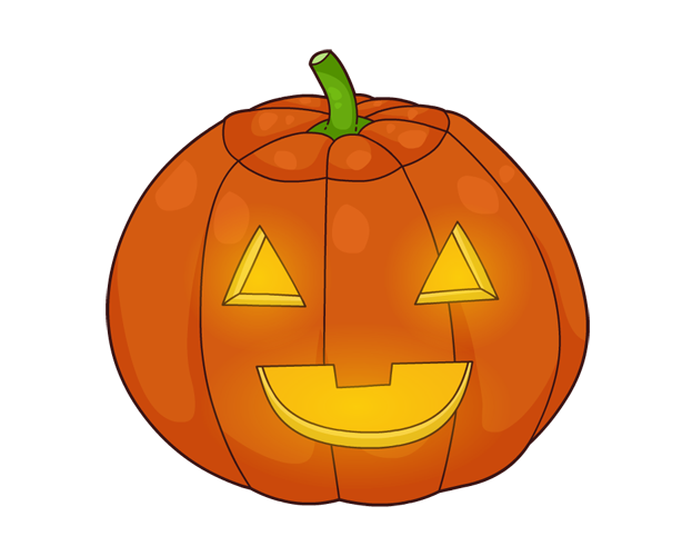 Happy pumpkin clipart small image royalty free library 28+ Collection of Jack O Lantern Clipart Transparent | High quality ... image royalty free library