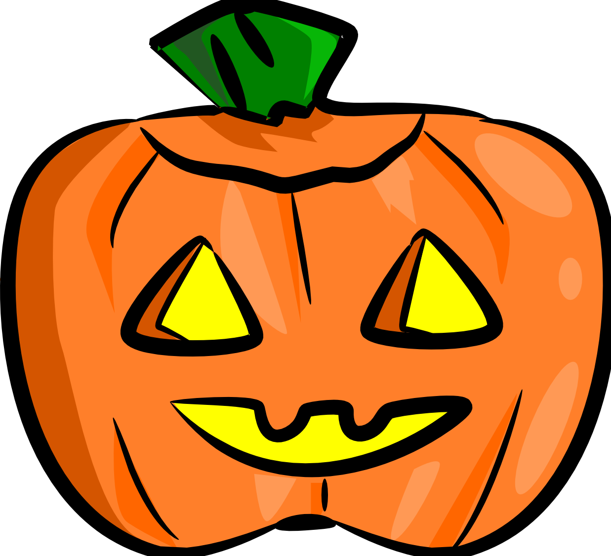 Pumpkin faces clipart picture freeuse library Cute Jack O Lantern Clip Art | Clipart Panda - Free Clipart Images picture freeuse library