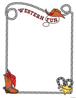 Western clipart borders frames clip free stock free western borders for documents | Free printable, digital ... clip free stock