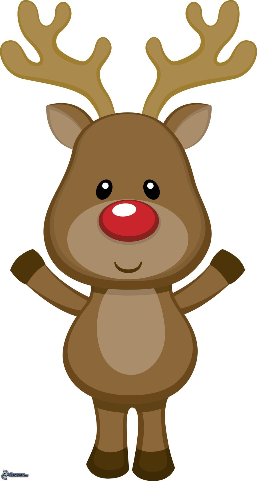 Cute reindeer clipart clip royalty free Cute Reindeer Clipart (99+ images in Collection) Page 1 clip royalty free