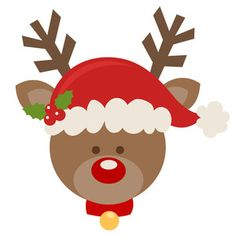 Free Rudolph Clipart, Download Free Clip Art, Free Clip Art on ... clipart black and white