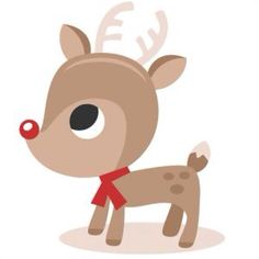 101 Best Rudolph images in 2015 | Christmas, Reindeer, Christmas clipart jpg black and white