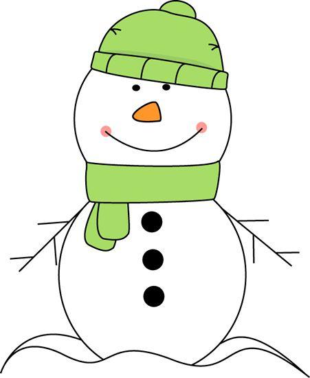Cute s snowman clipart clip art freeuse cute snowman wearing a green hat and scarf clip art   CLIP ART ... clip art freeuse