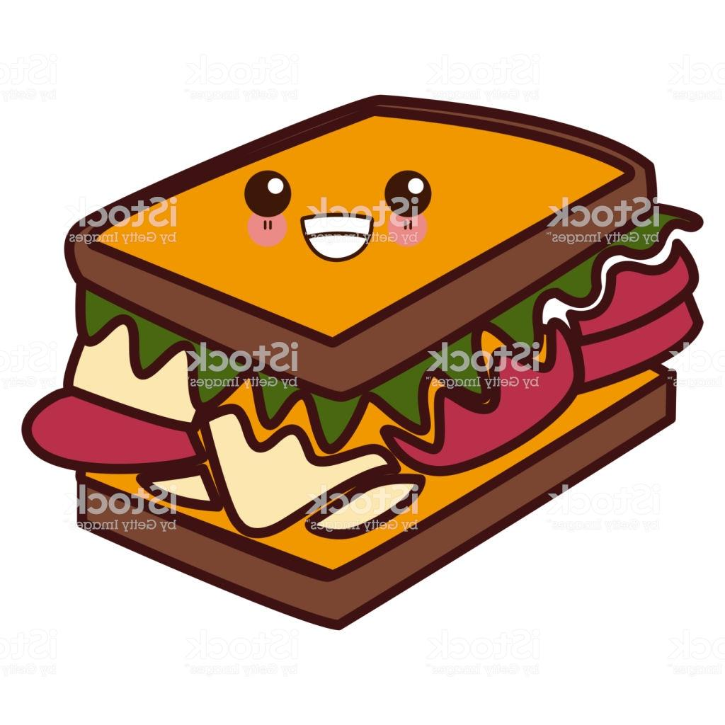 Cute sandwich clipart