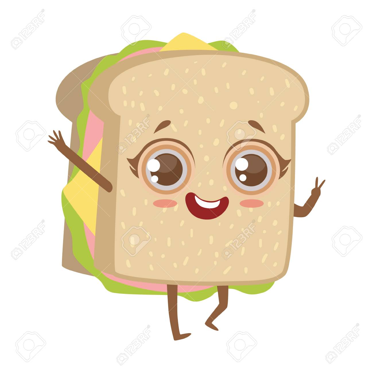 Cute sandwich clipart graphic free Collection of 14 free Sandwich clipart comic bill clipart dollar ... graphic free