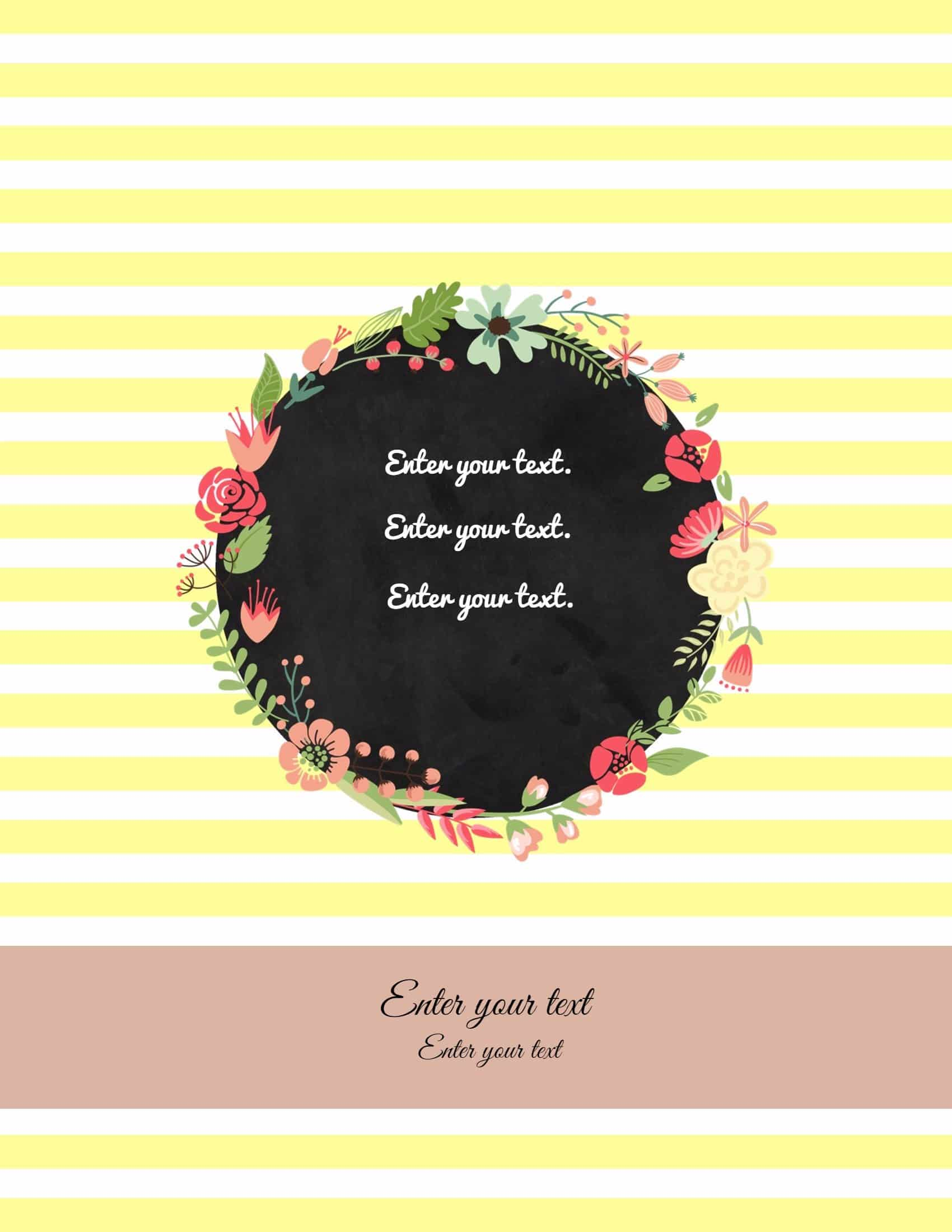 Cute secretary clipart to put in my binder picture free library Free Binder Cover Templates | Customize Online & Print at ... picture free library