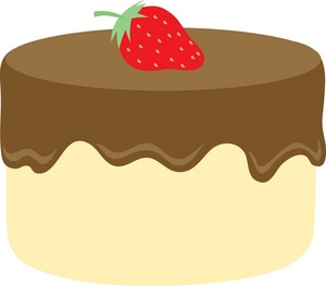 Cute slice of cake clipart jpg free stock Cute chocolate cake clipart - ClipartFox jpg free stock