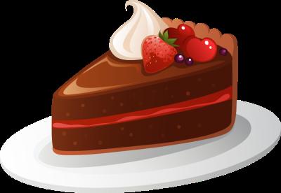 Cute slice of cake clipart banner Slice Of Cake Clipart - clipartsgram.com banner