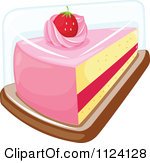 Cute slice of cake clipart banner free Cartoon of a Happy Boy with a Slice of Cake - Royalty Free Vector ... banner free