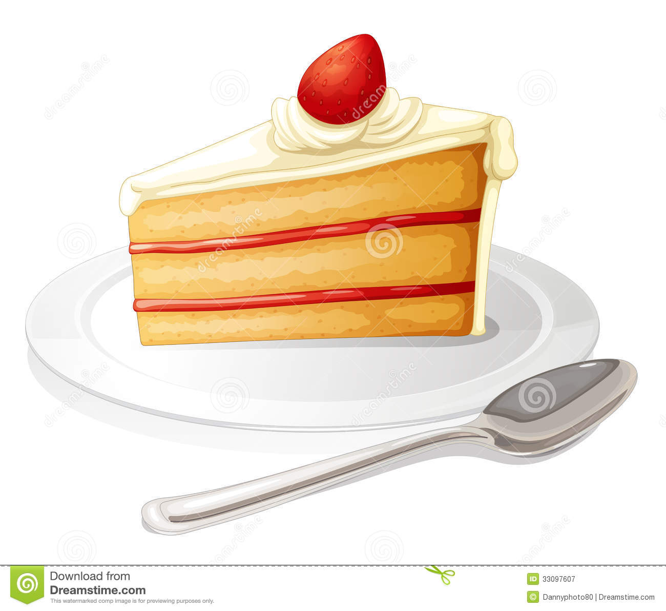 Cute slice of cake clipart image free download Rainbow Cake Clipart - Clipart Kid image free download