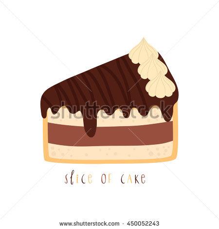 Cute slice of cake clipart graphic Vanilla Cake Slice Stock Vectors, Images & Vector Art   Shutterstock graphic