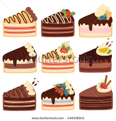 Cute slice of cake clipart clip transparent stock Poster Happy Birthday Text Message On Stock Vector 365235188 ... clip transparent stock