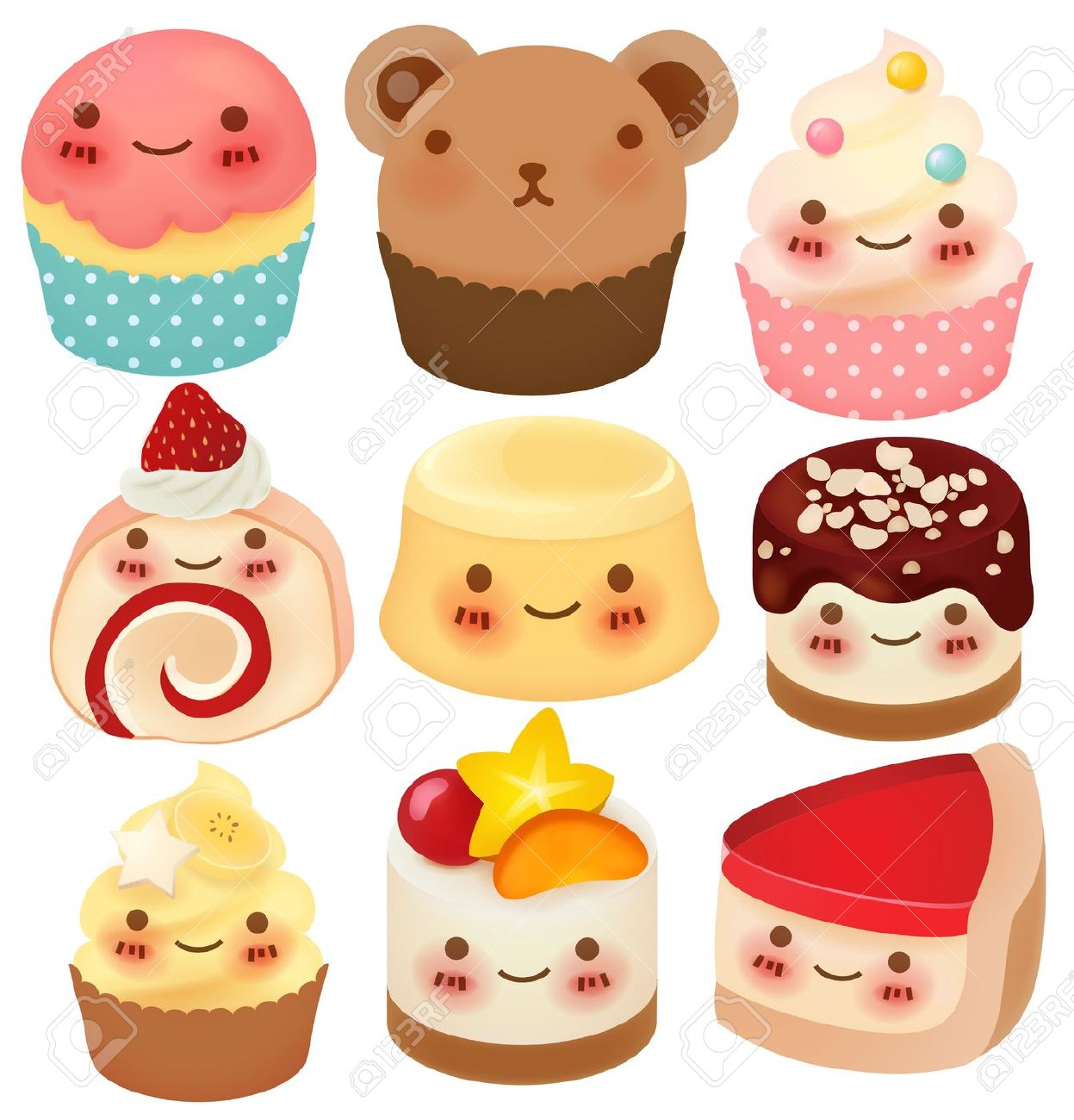 Cute slice of cake clipart picture download Cute chocolate cake clipart - ClipartFest picture download