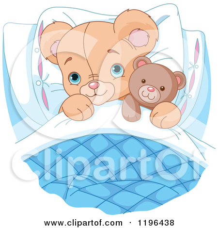 Cute small bed cartoon clipart png library download Clipart of a Princess Bed with a Pink and Yellow Striped Comforter ... png library download