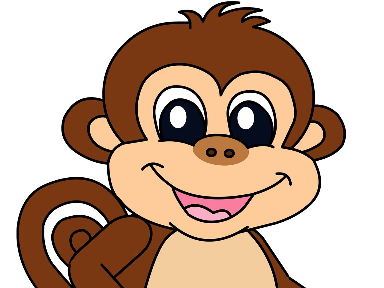 Cute small bed cartoon clipart picture Animated Monkeys Pictures | Free Download Clip Art | Free Clip Art ... picture