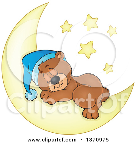 Of a dog sleeping. Cute small bed cartoon clipart