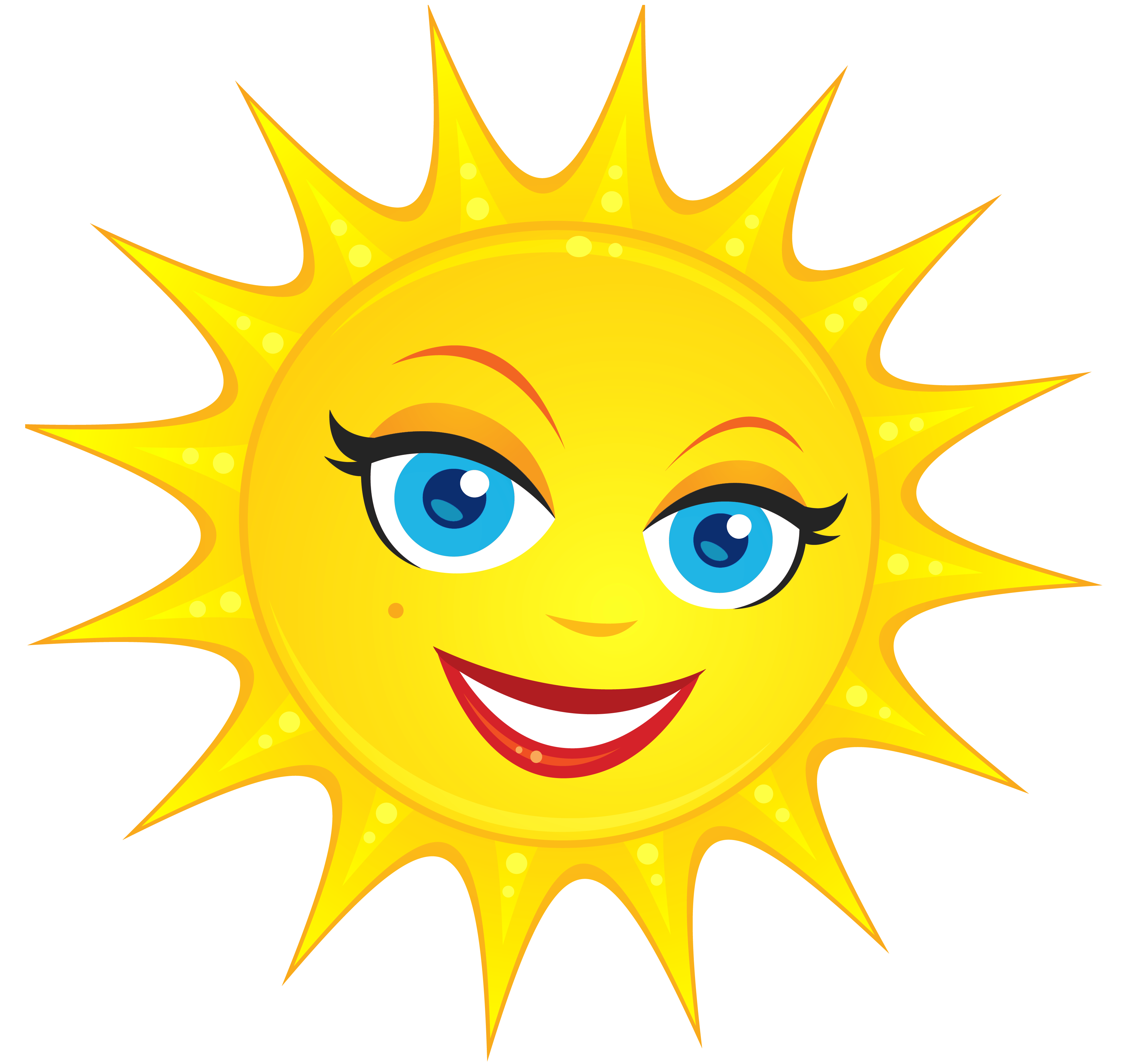 Cute sun smiling clipart jpg black and white Transparent Cute Sun PNG Clipart Picture | Gallery Yopriceville ... jpg black and white