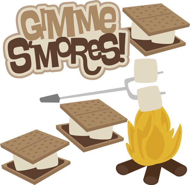S\'mores SVG | SVG\'s & ClipArt | Clip art, Camping clipart, Scrapbook picture transparent stock