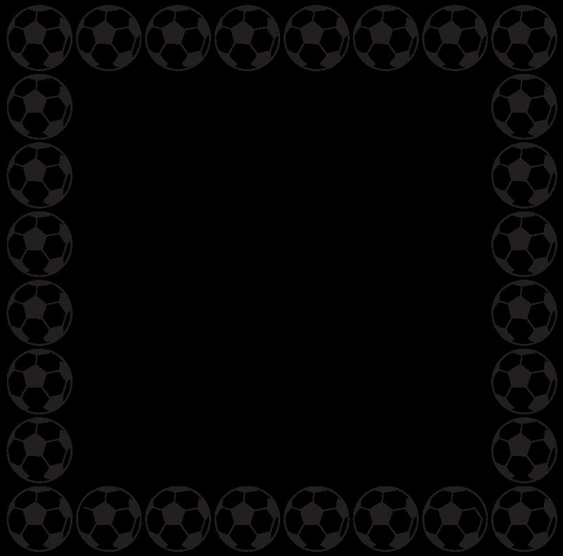 Snowflake border free download. Football clipart blacka nd white