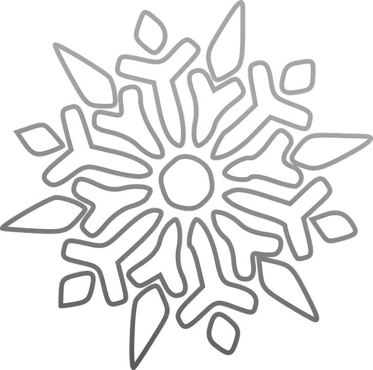 Cute snowflake clipart black and white jpg library download Collection of Black And White Snowflake Clipart   Buy any image and ... jpg library download
