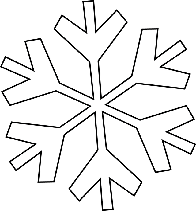 Solid snowflake clipart jpg stock Make Your Holiday Cards Special With The Right Sentiment or Greeting ... jpg stock
