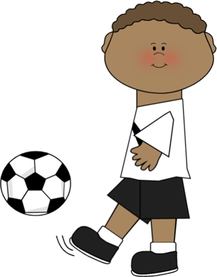 Clip art images player. Cute soccer ball clipart