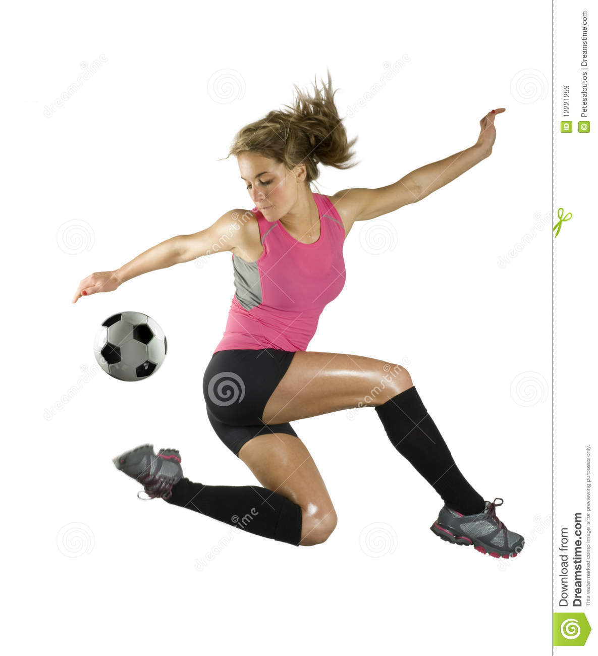Cute soccer ball clipart graphic freeuse library Girls Soccer Clipart - Clipart Kid graphic freeuse library