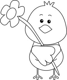 Cute spring clipart black and white graphic freeuse 81 Best Clip Art-Spring images in 2018 | Clip art, Art, Art ... graphic freeuse