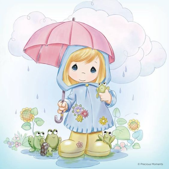 Cute spring showers clipart. April wikiclipart clip art